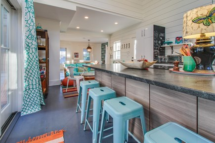 Wellfleet Cape Cod vacation rental - Room for everyone to gather around and help with dinner.