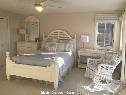 Falmouth Cape Cod vacation rental - Master bedroom with water views