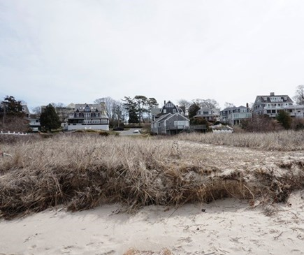 Falmouth Cape Cod vacation rental - Back of house from beach