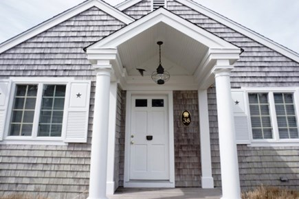 Falmouth Cape Cod vacation rental - Front entrance