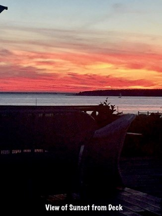 Falmouth Cape Cod vacation rental - Let's do sunset