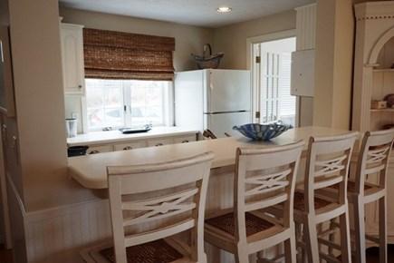 Falmouth Cape Cod vacation rental - Kitchen counter bar