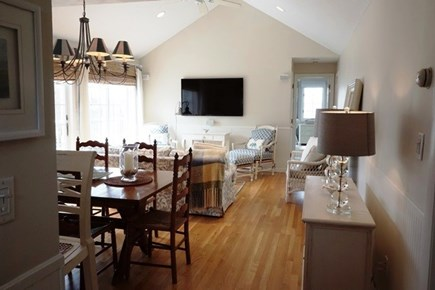 Falmouth Cape Cod vacation rental - Dining/living area