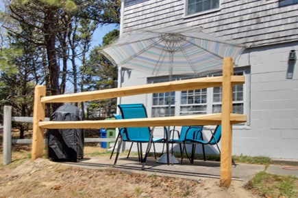 Orleans Cape Cod vacation rental - Soak up the sun and the view on the back patio.