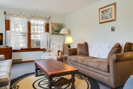 Orleans Cape Cod vacation rental - Family and friends will love this bright living room.