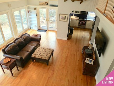Brewster Cape Cod vacation rental - Vaulted ceiling, wall to wall French doors