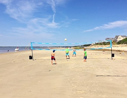 Brewster Cape Cod vacation rental - Just a three minute walk from house to beach.  Your serve.