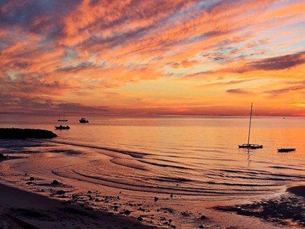 Brewster Cape Cod vacation rental - Come back for sunset.  Looks like a beauty.