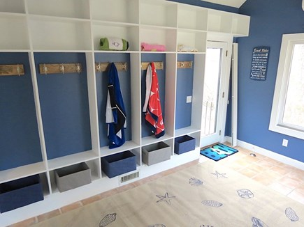 Brewster Cape Cod vacation rental - Main level mud room entrance.