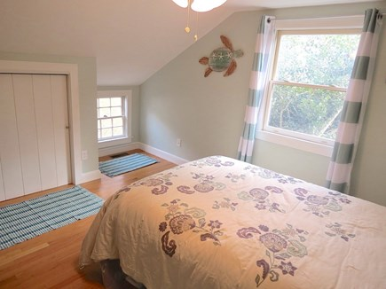 Brewster Cape Cod vacation rental - Queen BR, upstairs. Not shown:  4th BR with full double & twin
