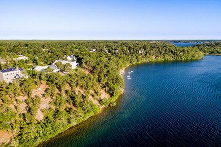 Brewster Cape Cod vacation rental - Stay at this incredible lakefront location overlooking Sheep Pond