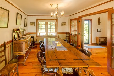 Brewster Cape Cod vacation rental - Dining for 8 and incredible views of the Sheep Pond