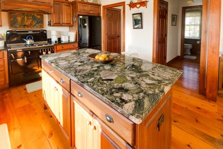 Brewster Cape Cod vacation rental - Plenty of room to cook up breakfast on a marble slab island