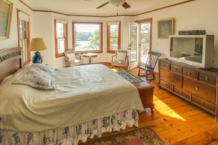 Brewster Cape Cod vacation rental - Roomy first-floor master suite comes with a comfortably queen bed