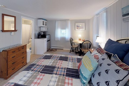 Orleans Cape Cod vacation rental - After a long day, rest your head on this comfy queen size bed.