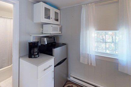 Orleans Cape Cod vacation rental - The kitchenette provides a fridge, microwave, toaster, and coffee