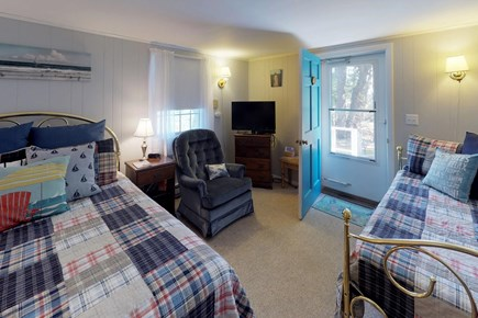 Orleans Cape Cod vacation rental - The twin bed offers sleeping space for another person