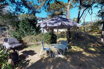 Orleans Cape Cod vacation rental - Enjoy a meal outside in the sunshine after an action-packed day.