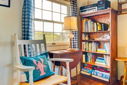 Truro Cape Cod vacation rental - Curl up with a book while you listen to the waves outside