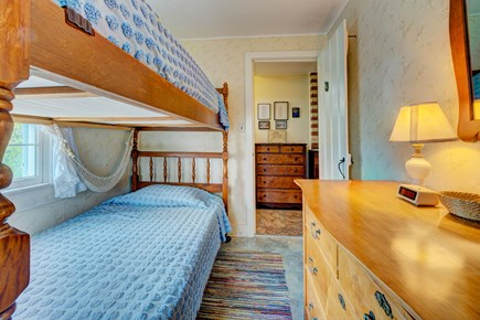 Truro Cape Cod vacation rental - There is room for everyone with another set of twin bunk beds.