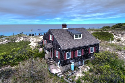 Truro Cape Cod vacation rental - Oceanfront five bedroom cottage.
