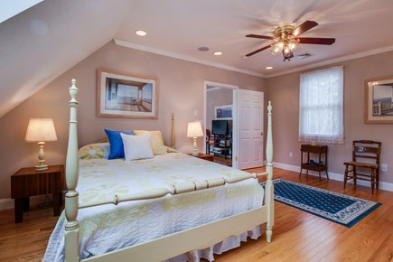 Chatham Cape Cod vacation rental - A cozy king size bedroom where you can sleep in peace