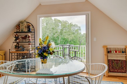 Chatham Cape Cod vacation rental - Peaceful view of the property from the dining area