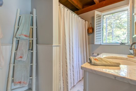 Chatham Cape Cod vacation rental - Peaceful en-suite includes a tub and a window to the world