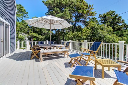 Chatham Cape Cod vacation rental - Enjoy a cookout on the back deck after a fun day at the beach
