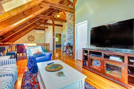 Chatham Cape Cod vacation rental - Enjoy the well-lit living area equipped with a smart TV