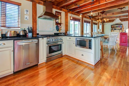 Chatham Cape Cod vacation rental - An open-concept, gourmet kitchen features high-end appliances