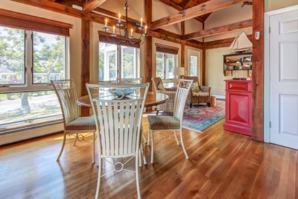 Chatham Cape Cod vacation rental - View and table are perfect for a formal meal for 6 guests