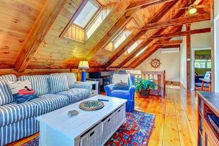 Chatham Cape Cod vacation rental - Skylights brighten this comfy living space