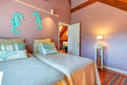 Chatham Cape Cod vacation rental - 2 of 3 additional bedrooms with seascape artwork
