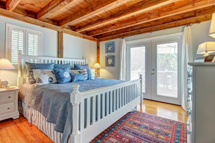 Chatham Cape Cod vacation rental - The roomy master suite with a massive king-size bed