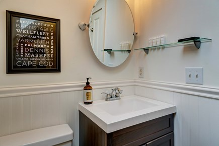 Provincetown Cape Cod vacation rental - Get washed and ready in this full size bathroom