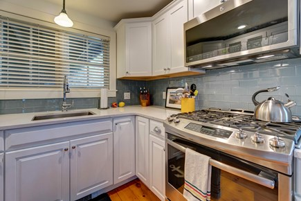 Provincetown Cape Cod vacation rental - Cook up a five star meal on the gas stove.