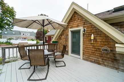 Provincetown Cape Cod vacation rental - Grill up some fresh seafood on the back deck.