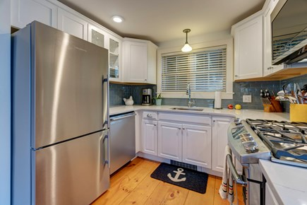 Provincetown Cape Cod vacation rental - Kitchen is fully equipped with stainless steel appliances.
