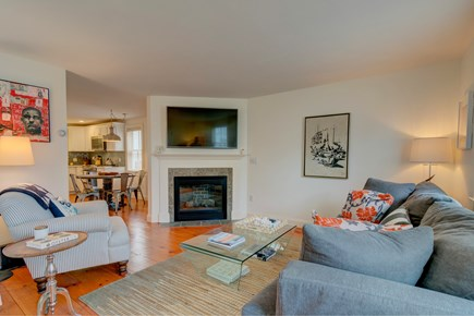 Provincetown Cape Cod vacation rental - After a day on the ocean come and relax in front of the cable TV.