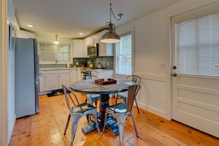Provincetown Cape Cod vacation rental - Enjoy a dinner of freshly caught seafood in the dining room.