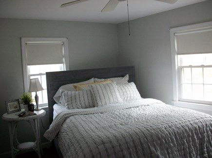 East Dennis Cape Cod vacation rental - Master bedroom and 1/2 bath