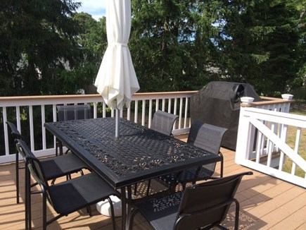 East Dennis Cape Cod vacation rental - Dining and gas grill