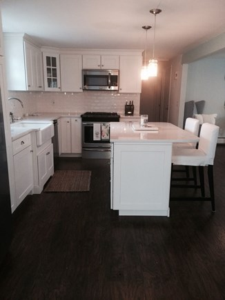 East Dennis Cape Cod vacation rental - Shiny new kitchen with island