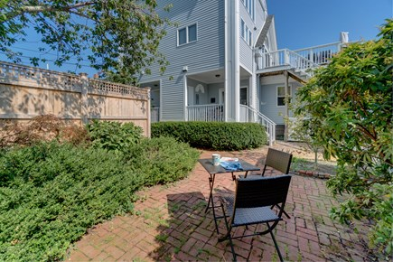 Provincetown Cape Cod vacation rental - Sit on this patio and watch the sun set after a long day.
