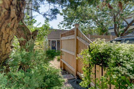 Provincetown Cape Cod vacation rental - Lots of greenery provides shade from the summer sun