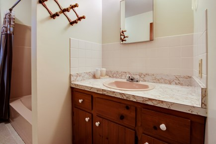 Dennis Cape Cod vacation rental - Master en-suite complete with shower and vanity