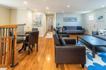 Dennis Cape Cod vacation rental - Contemporary furnishings and hardwood floors complete this home