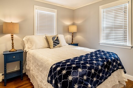 Dennis Cape Cod vacation rental - An inviting queen bed is the perfect place to relax