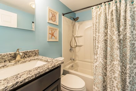 Dennis Cape Cod vacation rental - A second full bathroom ensures everyone will have room
